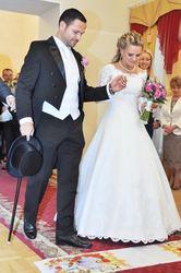 свадебное наряды невесте и жениху