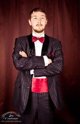 смокинг с бархатной шалькой новый 40-48 размеры, костюмы мужские