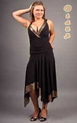 платья вечерние  пышным дамам