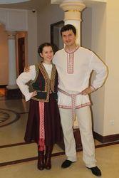 национальные наряды, костюм сумасшедшего, царя, ведьмы-сценические наряды