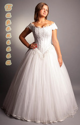 пышным  невестам брачные наряды