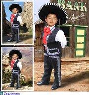 костюмы национальные-мексиканские, испанские, украинские, египетские и др
