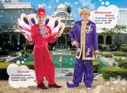 прокат детских маскарадных нарядов -султан, наполеон, зорро и другие
